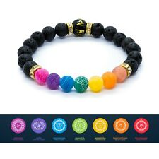 7 Chakra Anxiety Bracelet Crystal Healing Stones Jewellery Beads Natural stone