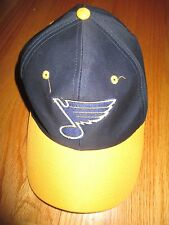 Vintage Logo 7 ST LOUIS BLUES (Adjustable Snap Back) Cap