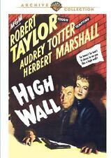 High Wall 1947 (DVD) Robert Taylor, Audrey Totter, Herbert Marshall - New!