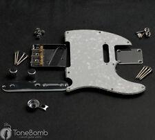 Tele Hardware Kit with Pearloid TxT Pickguard Wilkinson Bridge by ToneBomb