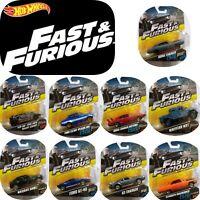 HOT WHEELS FAST & FURIOUS RETRO CAR DIECAST SCALE 1:55 ASST FCF35 DODGE FORD