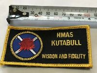 ORIGINAL ROYAL AUSTRALIAN NAVY HMAS KUTTABUL SHOULDER PATCH INSIGNIA