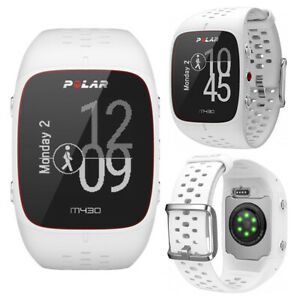 Polar Wrist Watch M430 White HRM GPS Sports Fitness Training Cycling Running