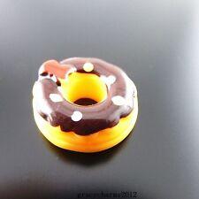 18pcs Resin Flatback Chocolate Donuts Cabochons DIY Decor Craft Findings 51366