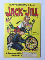 July 1968 JACK AND JILL~ FIRE ENGINE PAPER DOLL firefighting