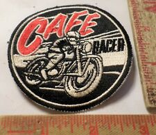 Vintage Cafe Racer patch old motorcycle biker vest collectible memorabilia