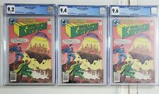 World of Krypton #2 CGC 9.2 9.4 9.6 LOT OF (3) GRADED COMICS NM- NM NM+