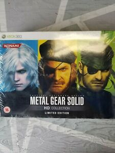 Metal Gear Solid HD Collection Limited Edition - Xbox 360 - Brand New - UK PAL