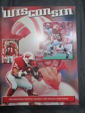1995 UNIVERSITY OF WISCONSIN BADGERS FOOTBALL PROGRAM VS MINNESOTA GOPHERS