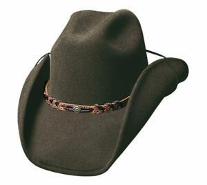 NEW - MONTANA Brown QUALITY Premium Wool Western Cowboy Hat Bullhide MonteCarlo