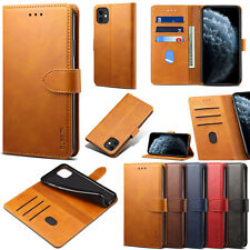 For iPhone 11 Pro Samsung A10 A20 A40 A50 Stand Leather Card Wallet Case Cover