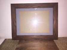 QUARTER SAWN TIGER OAK MISSION ARTS/CRAFTS MATTED FRAME-EARLY/MID CENTURY