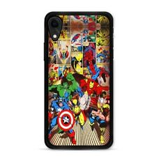 The Avengers iPhone XR Case Captain America Iron Man Spiderman Hulk Thor