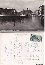 # CHIOGGIA: ARRIVO VAPORE DA VENEZIA   1953 (piroscafo Roma)