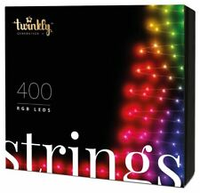 Twinkly Generation II - 400 LED String Lights   Customizable, App Controlled