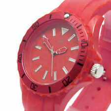 Women's Silicone/Rubber Strap Watches with Arabic Numerals