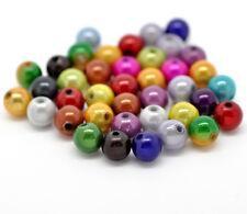 300 Mixte les perles magiques effet scintillant intense 8mm