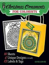 CHRISTMAS For COLORISTS Card Making & Paper Crafting HOT OFF THE PRESS 8504 New