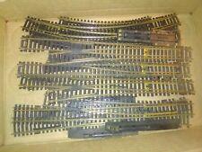 Nine ho scale brass rail train track switches