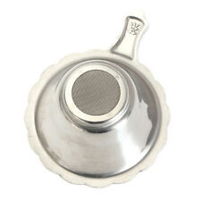 Silver Stainless Mesh Tea Infuser Cup Strainer Loose Tea Leaf Filter Sieve NEW