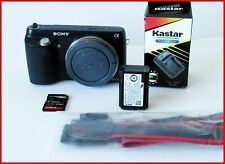 Sony Alpha NEX-F3 16.1MP Mirrorless Digital Camera Body Only (Black)   #091