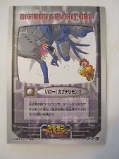 Digimon Adventure Game Card TC-NO 21, 1999, Japanese Print (VG) (011-39)