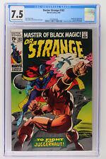 Doctor Strange #182 - Marvel 1969 CGC 7.5 Juggernaut, Nightmare and Eternity App