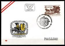 Erste Pferdeeisenbahn Linz-Freistadt-Budweis(1832).FDC-Brief.Österreich 1982