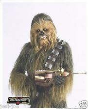 Official Pix 8x10 Photo Chewbacca Peter Mayhew Star Wars Celebration V