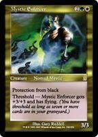 MYSTIC ENFORCER Odyssey MTG Gold Creature — Human Nomad Mystic RARE