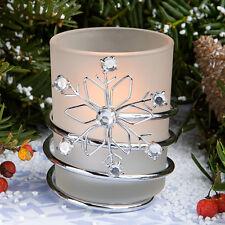 12 Snowflake Candles Winter Wedding Theme Bridal Shower Wedding Favors