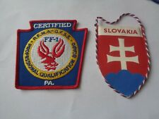 FIRE BRIGADE CLOTH PATCH AND PENNANT