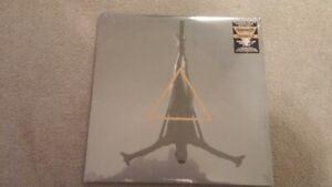 schammasch triangle 3lp vinyl clear black record! sealed!