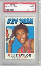 1971 Topps Basketball Ollie Taylor (#182) PSA9 PSA