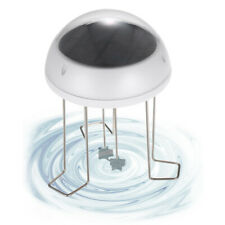 Solar Water Wiggler For Bird Bath Solar Powered Water Agitator With Battery M1Y0