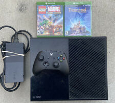 Microsoft Xbox One 500GB Black Console Bundle With 2 Games