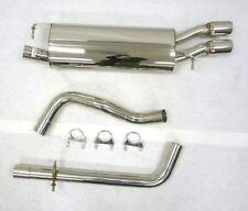 OBX Catback Exhaust Fits 2000 01 02 03 2004 Volkswagen Golf Mk4 4-Motion V6 VW