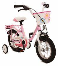 Kinderfahrrad 12 Zoll Rücktrittbremse Fahrrad Kinder Mädchen Mädchenfahrrad Pink