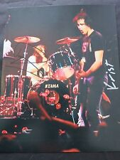 NIRVANA SIGNED 8X10 PHOTO COA + PROOF! DAVE GROHL KRIST NOVOSELIC