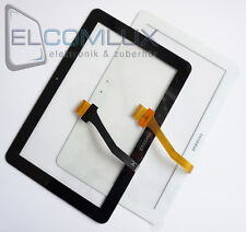Display vetro touch screen digitalizzatore Samsung Galaxy Tab 10.1 p7500 Bianco