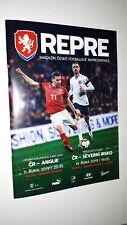 Programm 2019 Czech Republic / Tschechien  - England  / Nordirland