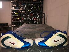 2004 Nike Air Zoom Adrenaline Mens Basketball Shoes Size 10 White Blue Red