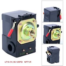 Lefoo Air Compressor Pressure Switch Control Valve 95-125 PSI 1 Port