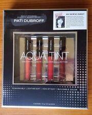 Pati Dubroff Aqua Tint Innovative Liquid Lip Gloss Collection Set 4 Shades New