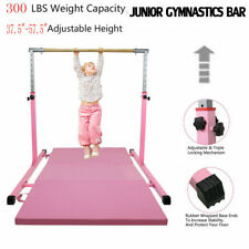 Pro Gymnast Training Bar Horizontal Bar Practice Indoor Sports Equip Adjustable