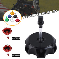 1×CNC Gas Fuel Tank Cap Cover Valve Breather Motorcycle ATV Coolster 48.5/49.5mm