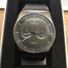 Men's OBAKU Watch TITANIUM 90418 V176GMTJMJ JORD
