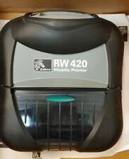 Zebra RW420 4 inch print wifth wifi , RS232, USB 8MB DRAM,4MB flash, display,