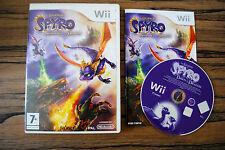 Jeu SPYRO NAISSANCE D'UN DRAGON pour Nintendo Wii PAL COMPLET (CD OK)