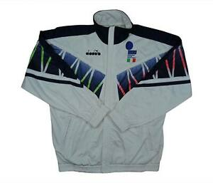 Italy 1994 Authentic Tracksuit Top (Very Good) L Soccer Jersey